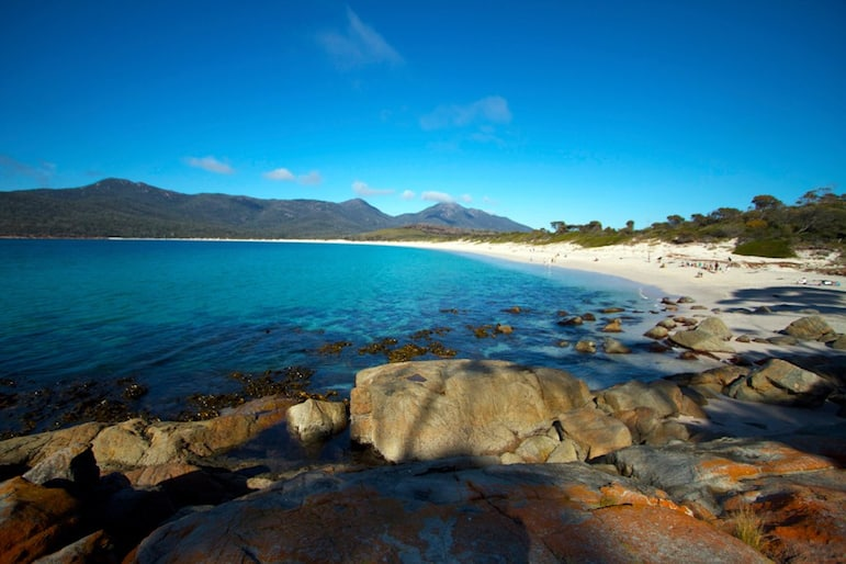 If you have room for a view make it Wineglass Bay and hike to the top of Mount Amos