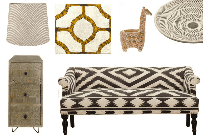 Travel interior design - African inspired interiors