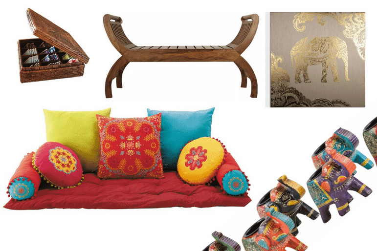 A taste of India - decor inspired by travel