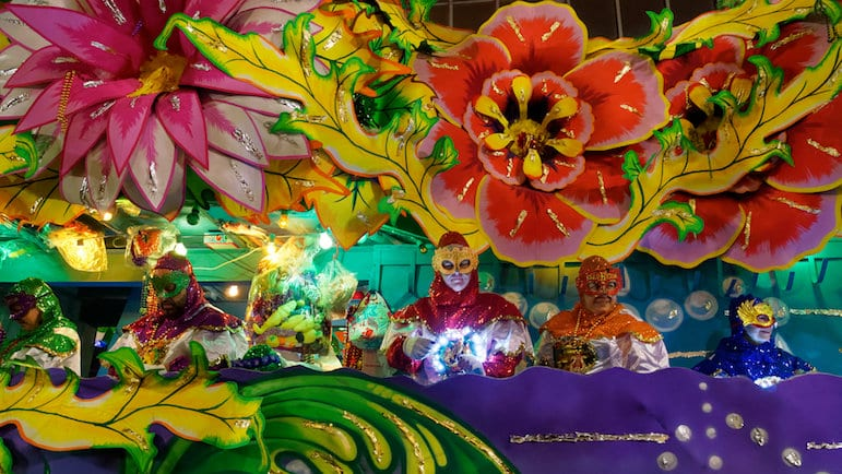 Mardi Gras is just one of the New Orleans Festivals
