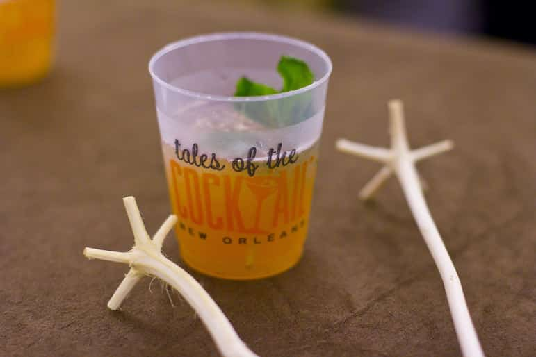 Tales of the Cocktail event, one of the things to do in New Orleans | Pic Dan Silvers