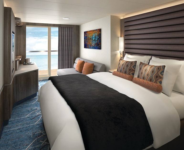 A Norwegian Bliss review, Balcony room