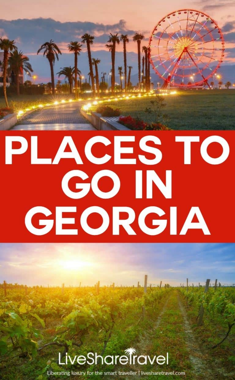 Places to go in Georgia