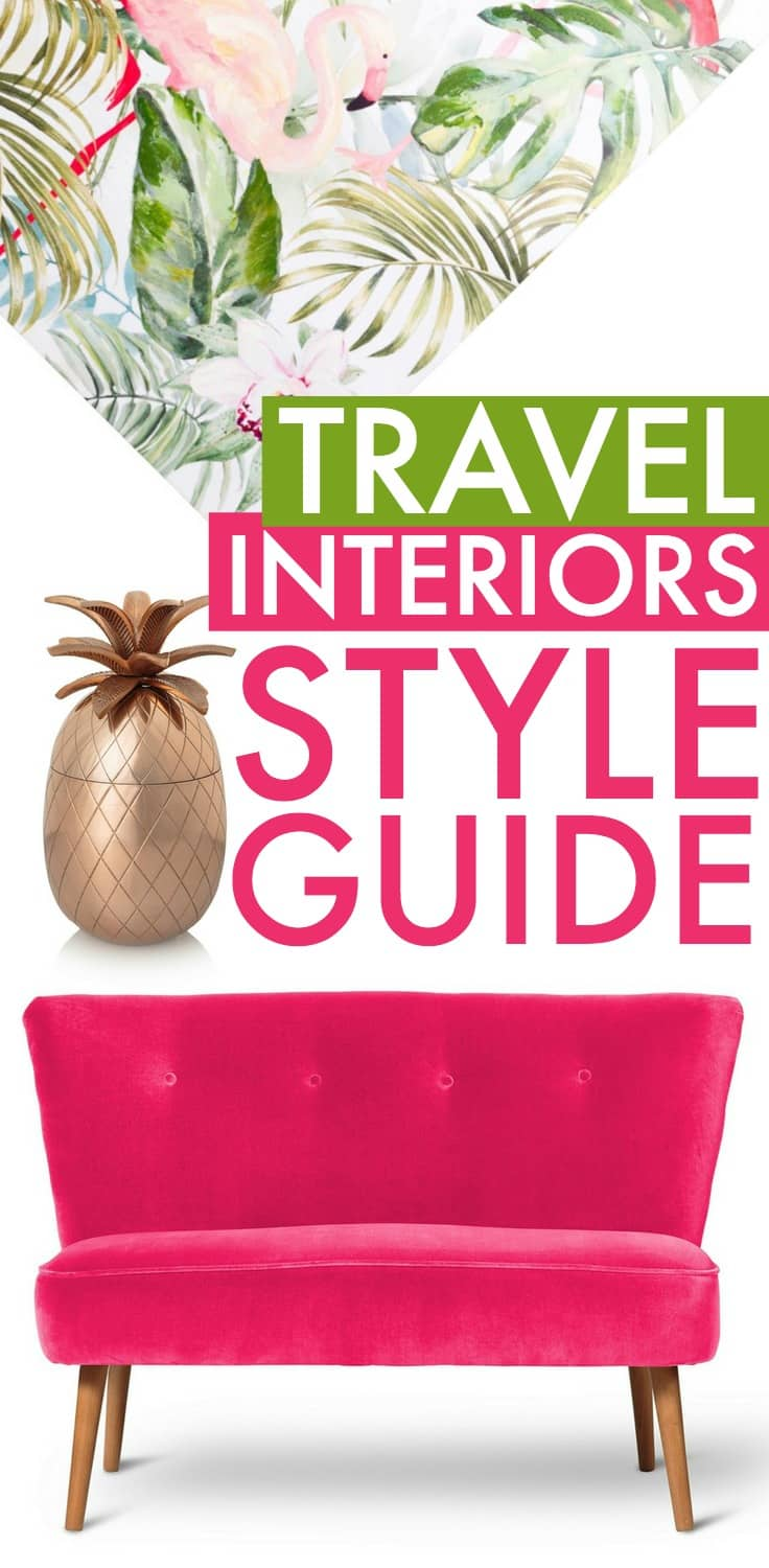 Travel interior design, how to transform your home with stylish decor inspired by travel from Nordic house interiors, to African home decorations, Moroccan interiors, Asian inspired interiors. Plus vintage home accessories and more