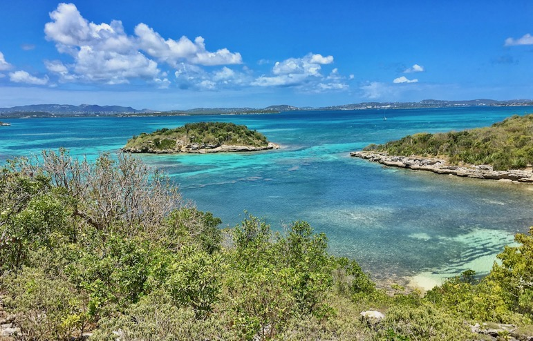Holidays in Antigua provide great these views from Bird Island