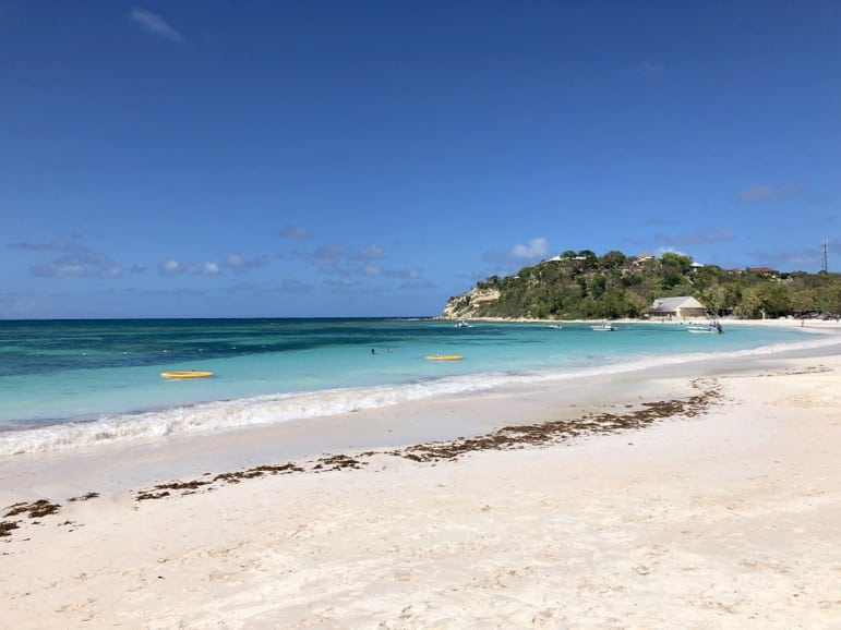 Places to stay in Antigua - the beach at Pineapple Beach Club