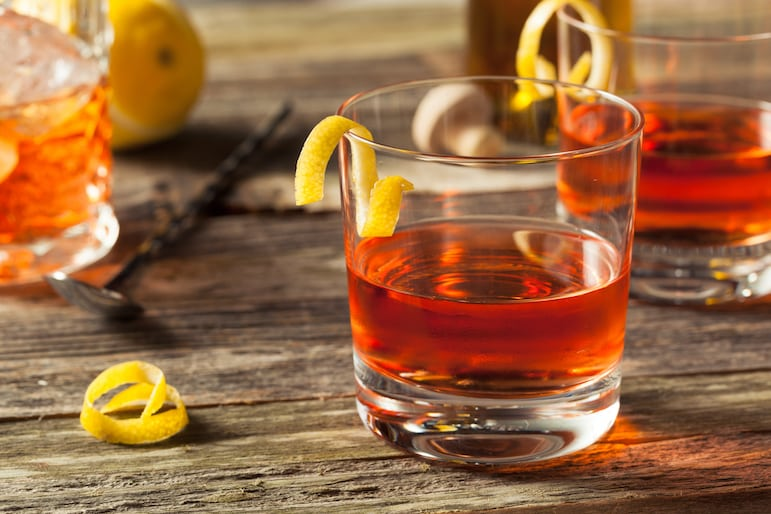 Enjoy a Sazerac cocktail, just one of the things to do in New Orleans