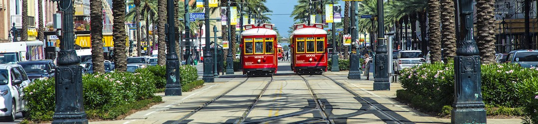 Board a streetcar another great thing to do in New Orleans
