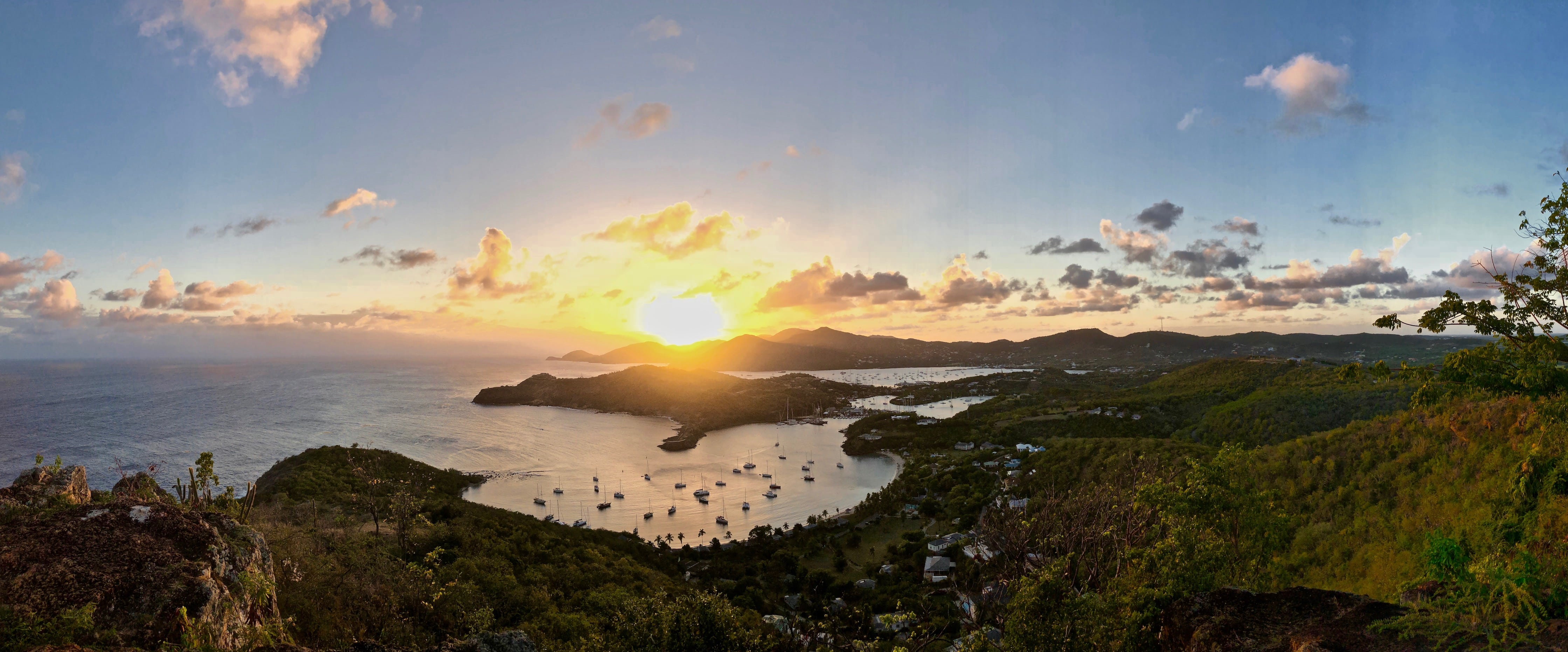 Sunset at Shirley Heights is one of the most popular Antigua attractions on a Sunday