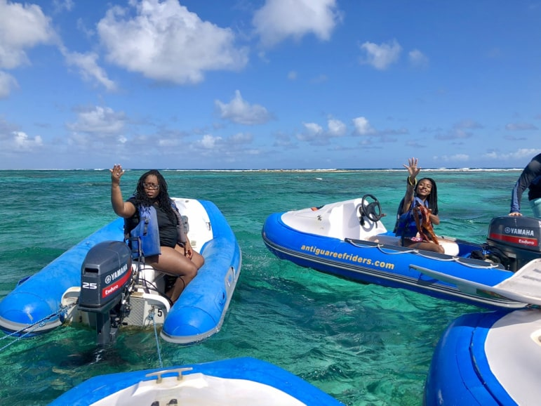 We became Reef Riders, just one of the things to do in Antigua