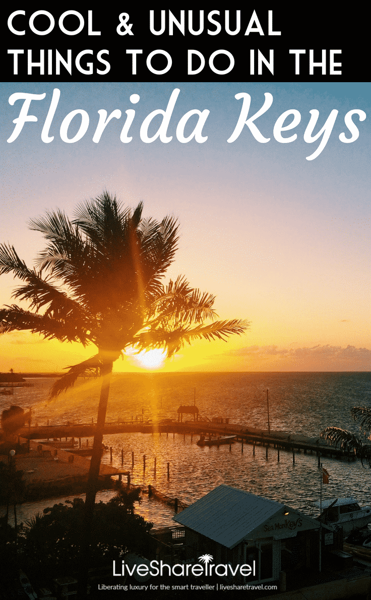 There are many cool and unusual things to do in the Florida Keys and Key West. The USA's most southerly region is very close to the Caribbean and had not only great weather, but great Florida Keys tourist attractions, like the Turtle Hospital, Mallory Square Sunset Celebration, the African Queen boat, author Ernest Hemingway's house and the southernmost point of the continental United States. Check out our Florida Keys tips and map of the best places to visit in Florida's popular region.