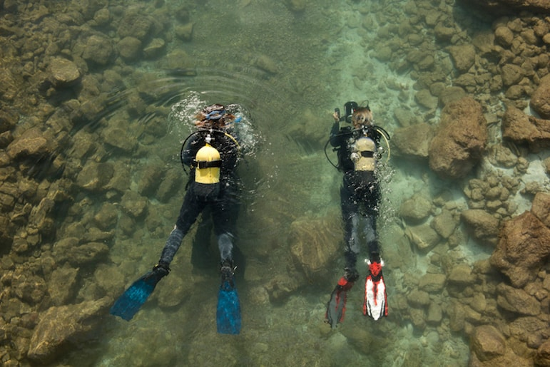 For those who want to get close to the marine life, Anfi have an on-site dive school