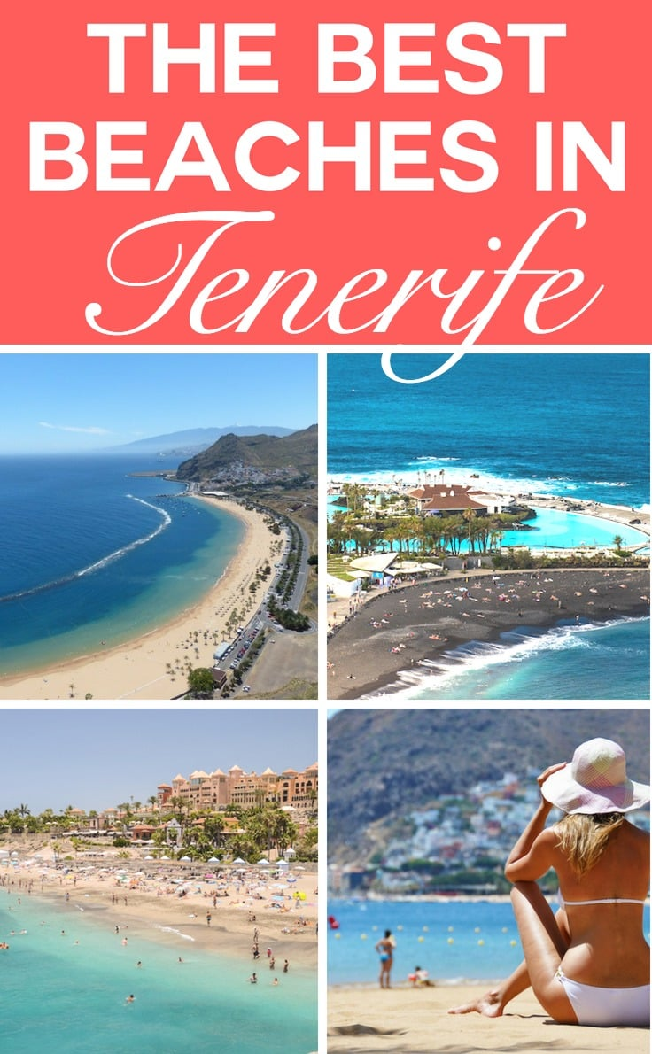 The best beaches in Tenerife in the Canary Islands, Spain