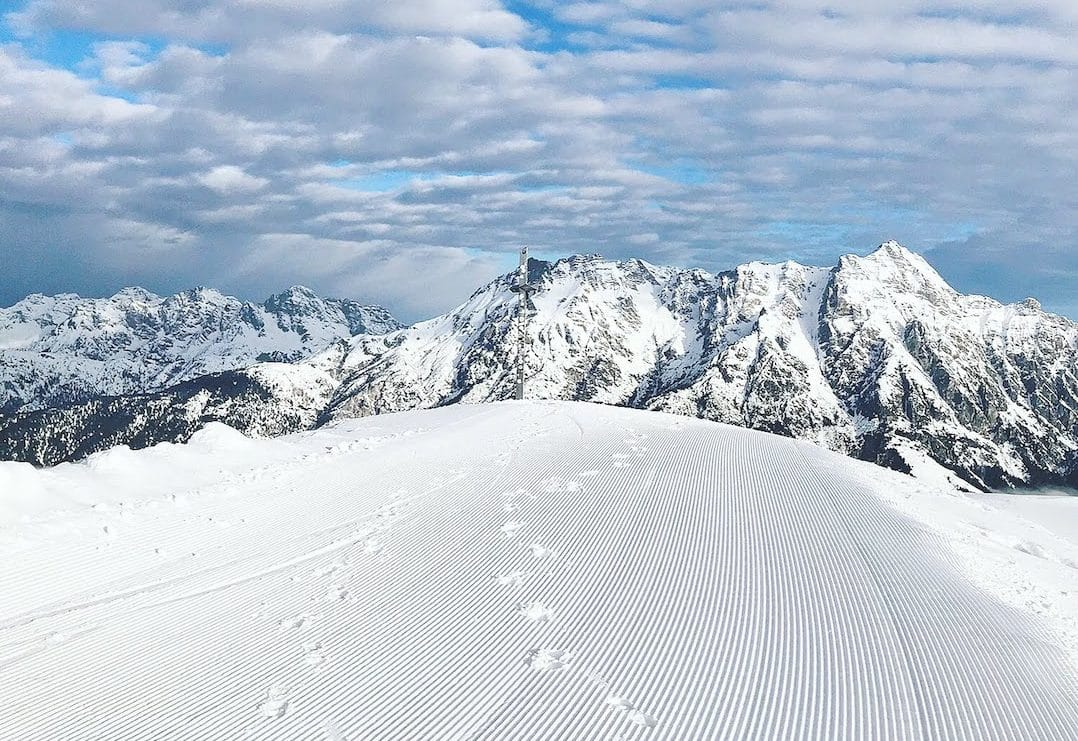 Austria is made for skiing | pic: Shelley Burton