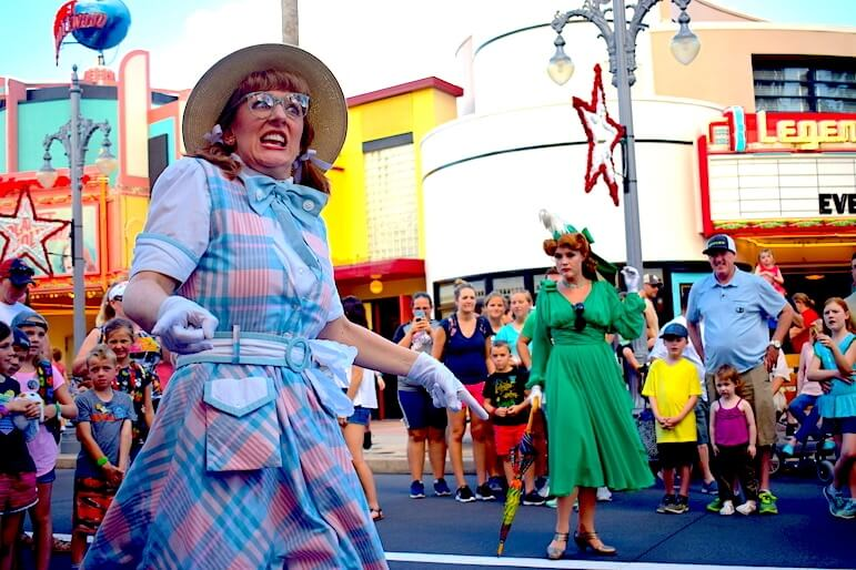 Citizen's of Hollywood Street Show at Disney's Hollywood Studios | Pic Lorraine Loveland