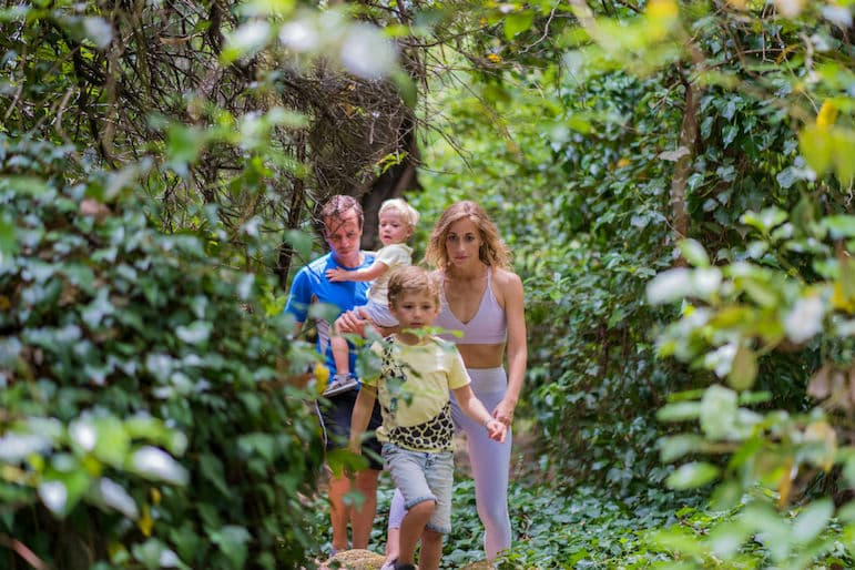Things to do in the Algarve, hiking is the best way to get out and experience the wildlife with all the family