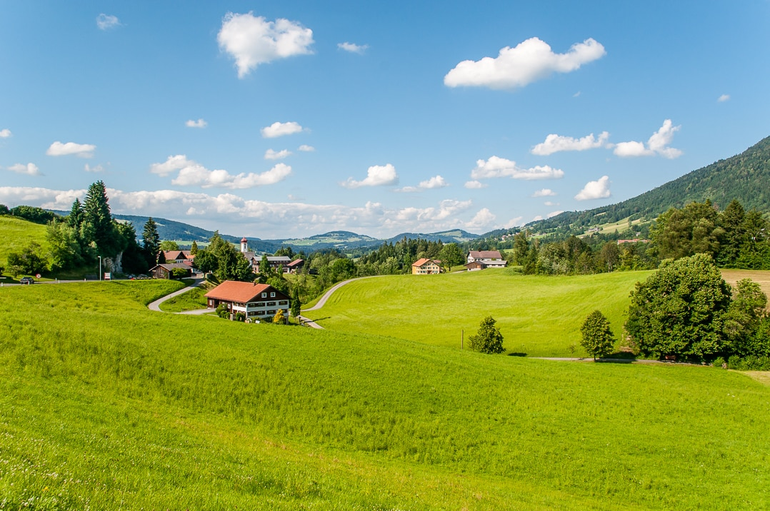 Lakes to mountains and downs - go west to Vorarlberg