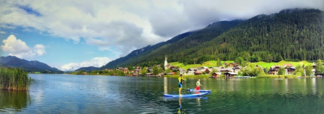 Things to do in Austria - take to the water in Weissensee