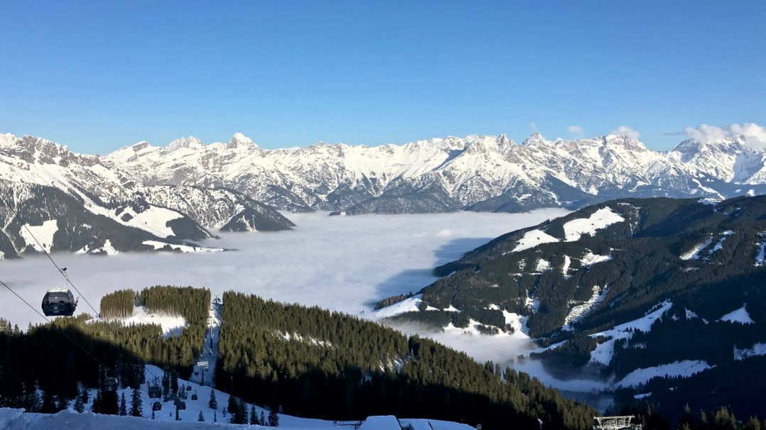 Things to do in Salzburg - go skiing in Saalbach-Hinterglemm
