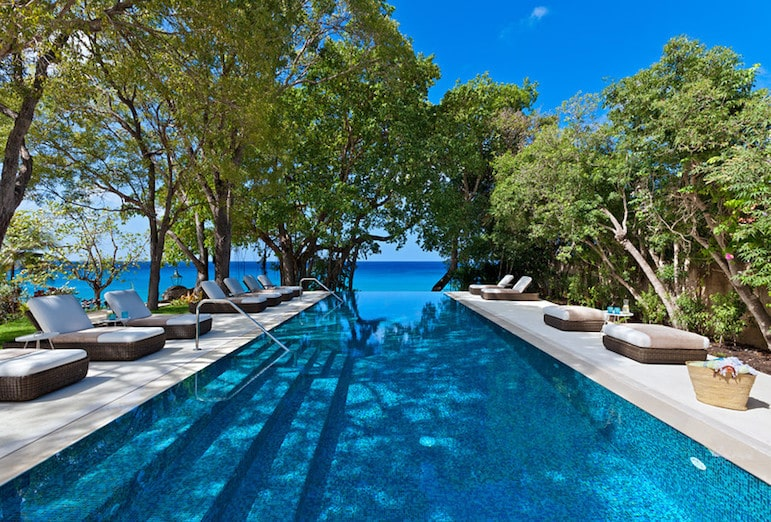 Crystal springs in Barbados luxury holiday villa