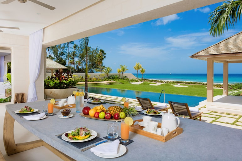 Enjoy luxury villa holidays at Godings Beach House, Barbados