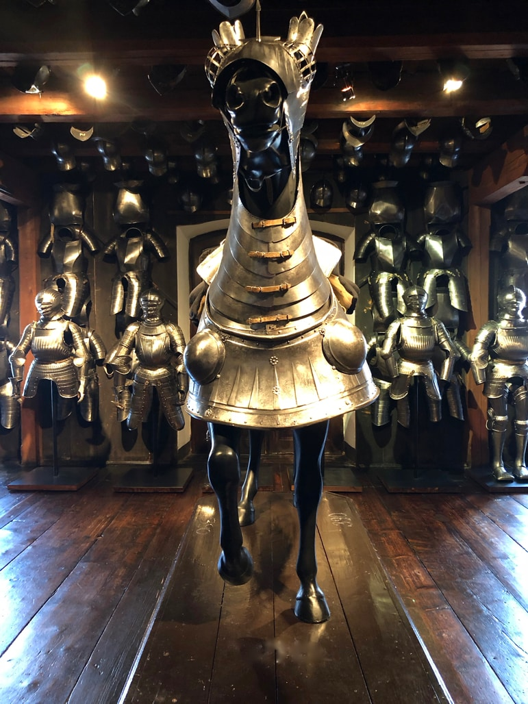 Graz's Armour Museum has one of just a few of the world's horse armours