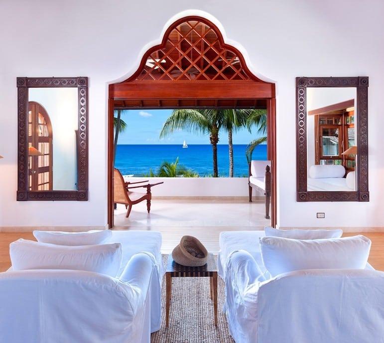 Greensleeves luxury villa on the west coast of Barbados