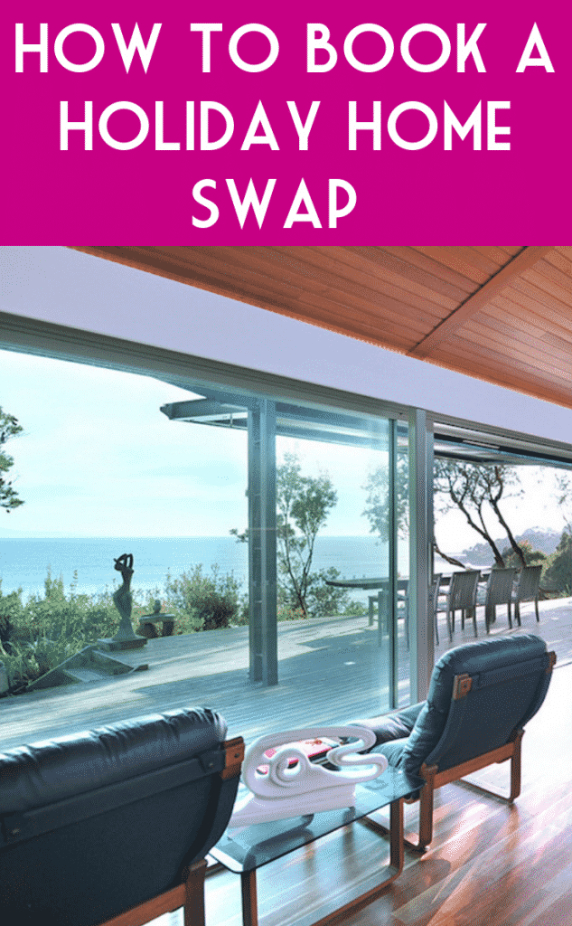 A luxury holiday home with a sea view exchanged with a holiday home swap company
