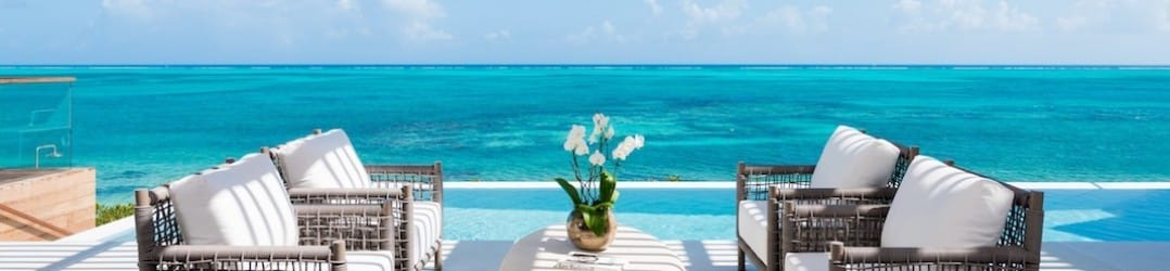 Luxury holiday villas at North Shore Beach Enclave, Turks and Caicos
