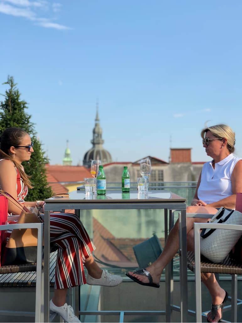 Relaxing outside over drinks at bars and cafés in the city of Graz is how the locals like to enjoy it