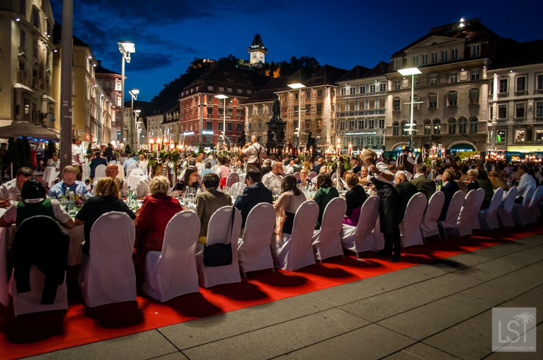 The Long Table is the premier food event in the city of Graz, Austria's Culinary Capital