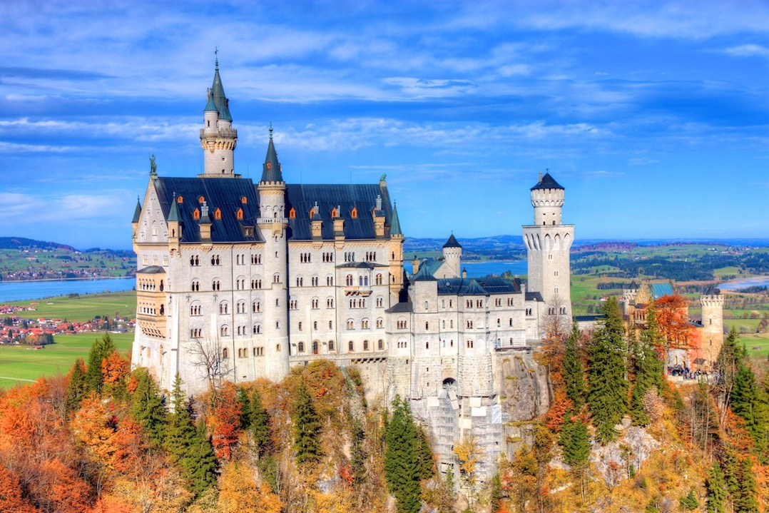 The fairytale Schloss Neuschwanstein is one of the best places to visit in Germany | pic: Jiuguang Wang