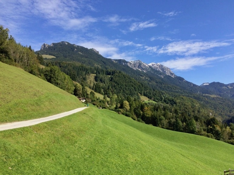 Walking the serenely beautiful Kaiser Valley in the Tirolian Alps
