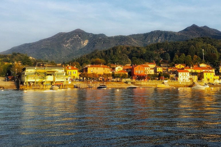 Baia Calde on the Italian Lakes is Lake Maggiore's answer to Portofino | Pic Lorraine Loveland