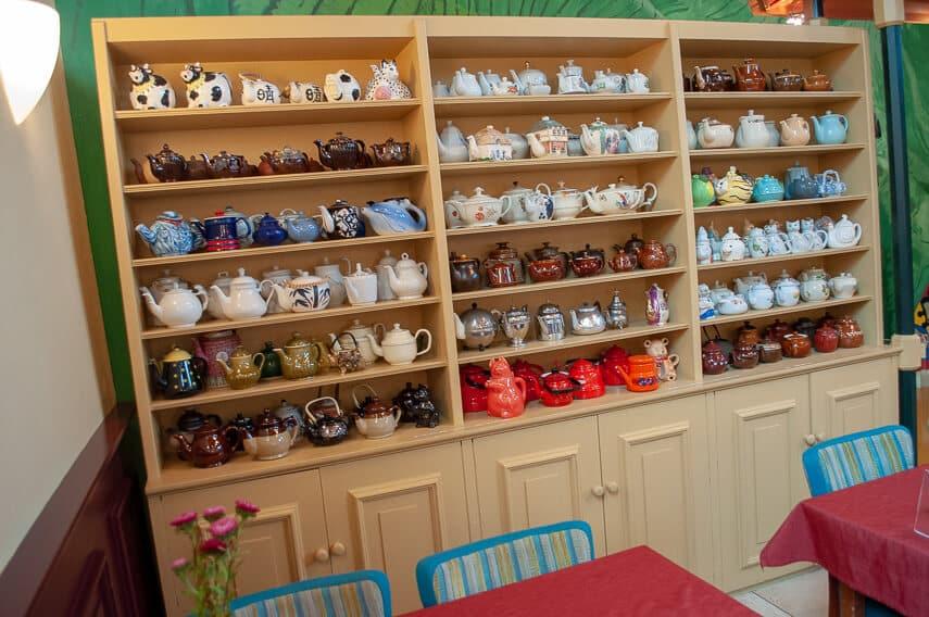 Colourful and cute the De Theefabriek tea museum in Houwerzijl