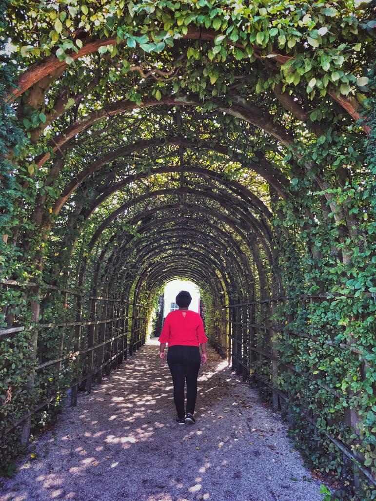 Prinsenhoftuin or Prince's Garden, a renaissance style 17th century walled garden in Groningen