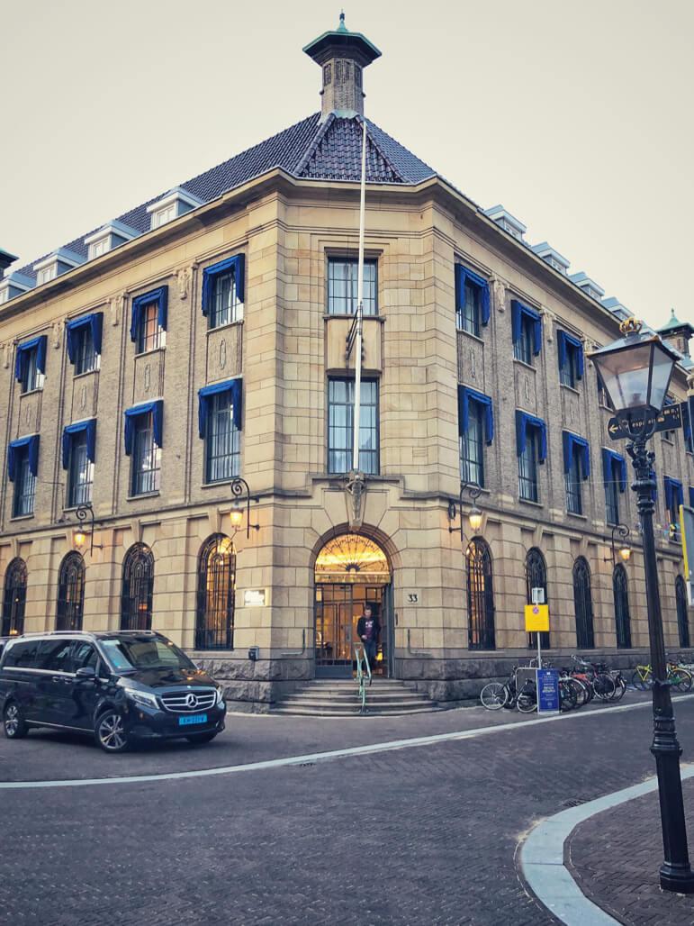 The boutique Hotel Indigo Palace Noordeinde in The Hague