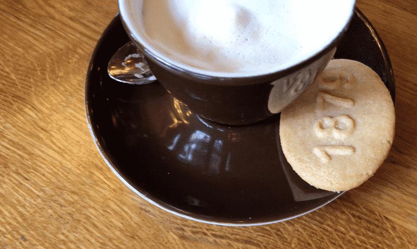 Make for Cafe Brinkmann in Haarlem for a break in historic surroundings