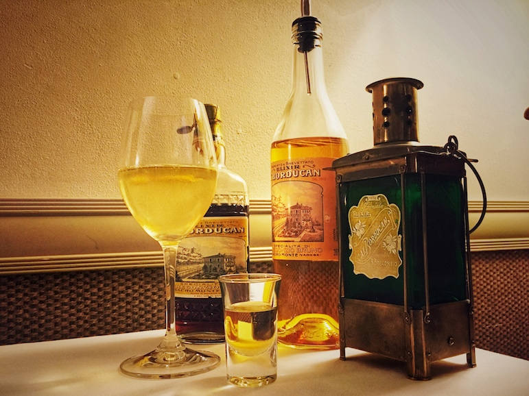 The Borducan Elixir is an exclusive aperitivo produced here in Varese and a highlight of the Italian Lakes | Pic: Lorraine Loveland