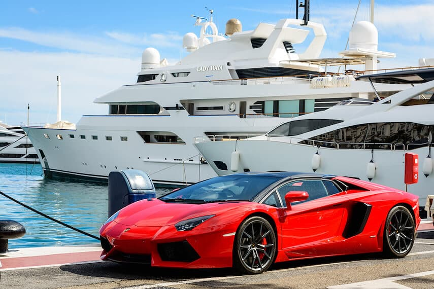 Puerto Banus is the place to be seen, with flashy cars and expensive yachts the norm