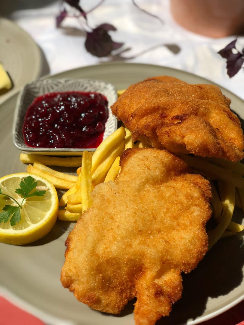 Schnitzel is one of the most traditional austrian foods