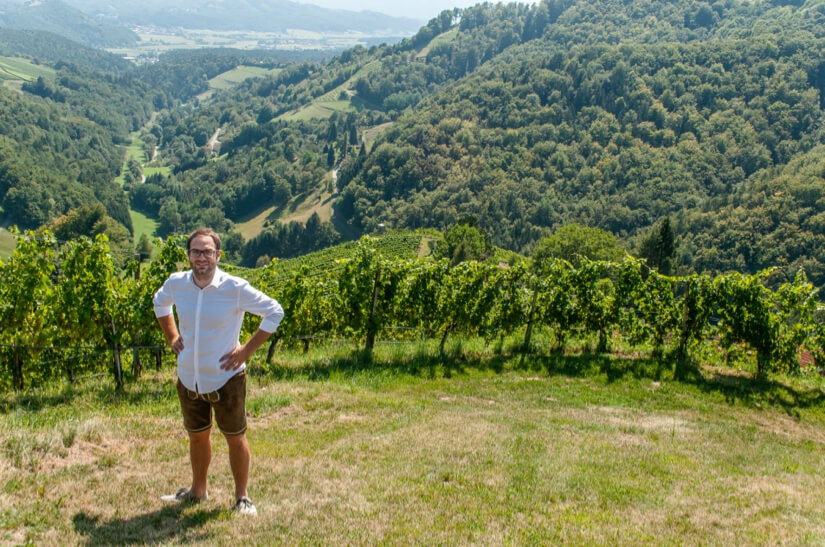 Stefan Schauer is one of Austria's great wine producers
