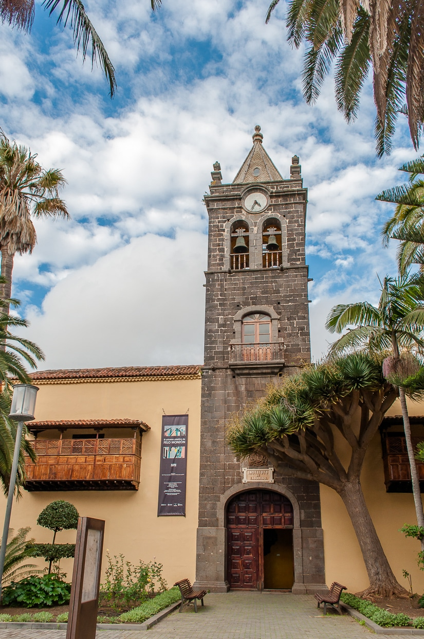 The former convent of Saint Augustine in La Laguna, Tenerife
