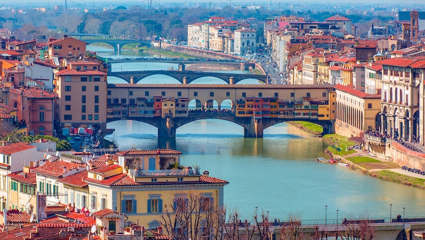Wander the beautiful streets of Florence and see the inspiration behind the likes of Leonardo da Vinci and Michelangelo's masterpieces
