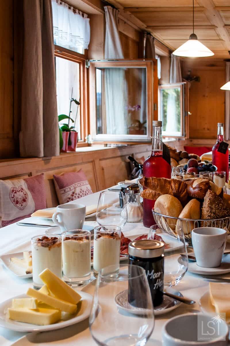 Breakfast at the Hotel Adler in Krumbach