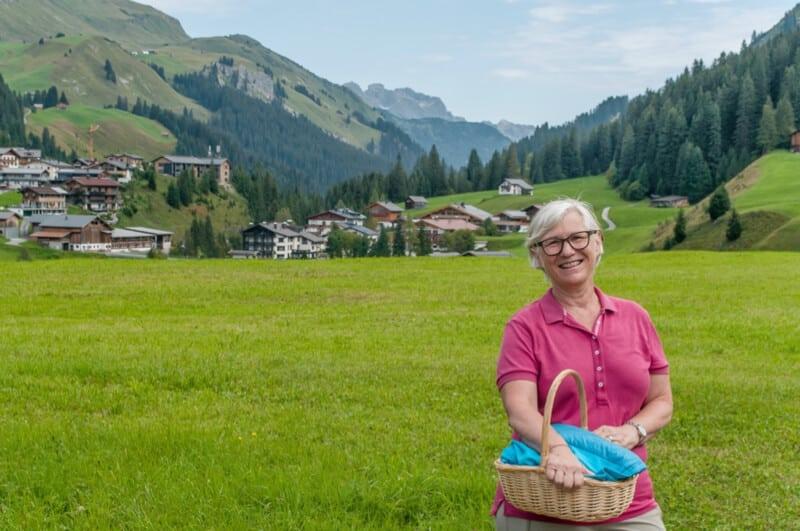 Herbal walk in Vorarlberg