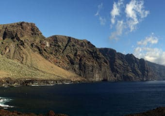 Acantilados de los Gigantes, which translates to 'Cliffs of the Giants'