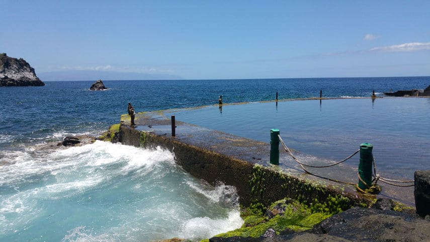 Isla Cangrejo is a natural seawater pool, though a concrete wall shelters it from the crashing waves, making it an unbeatable place for a dip