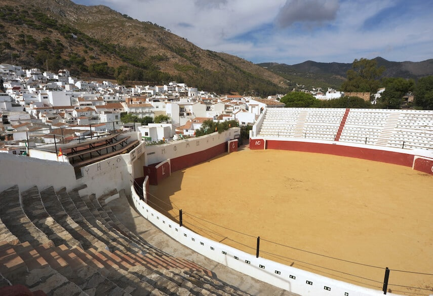 Pueblo Mijas is also home to a bullring, which is a popular attraction, although it's not used for bull fighting anymore