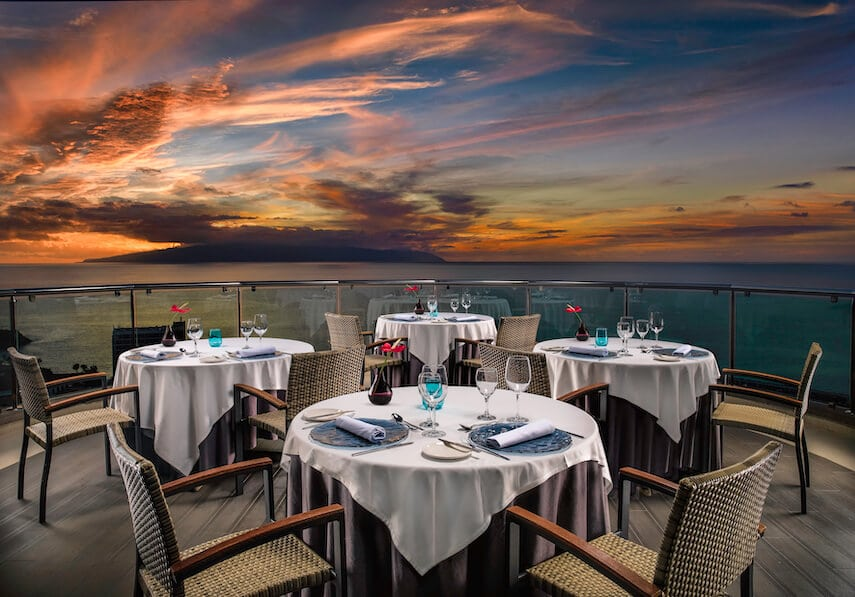 The Aqua Restaurant is an exclusive and intimate eatery led by chef, Lucas Maes